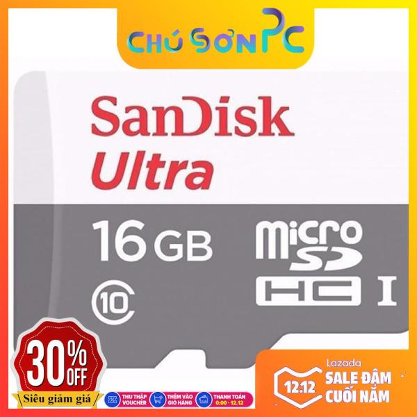 Thẻ nhớ 16G Sandisk Ultra Class 10 80Mb/s