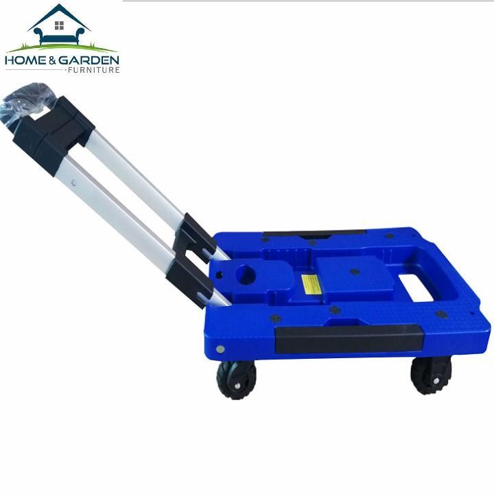 Home and Garden - Xe kéo hành lý gấp gọn du lịch chịu tải 200kg (Dark Blue)