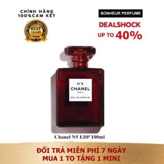 Nước hoa Chanel Số 5 đỏ bản EDP 100ml thumbnail