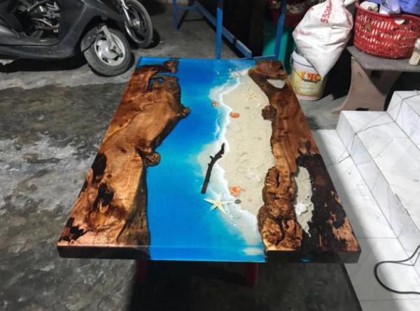 Epoxy đổ bàn - 1kg