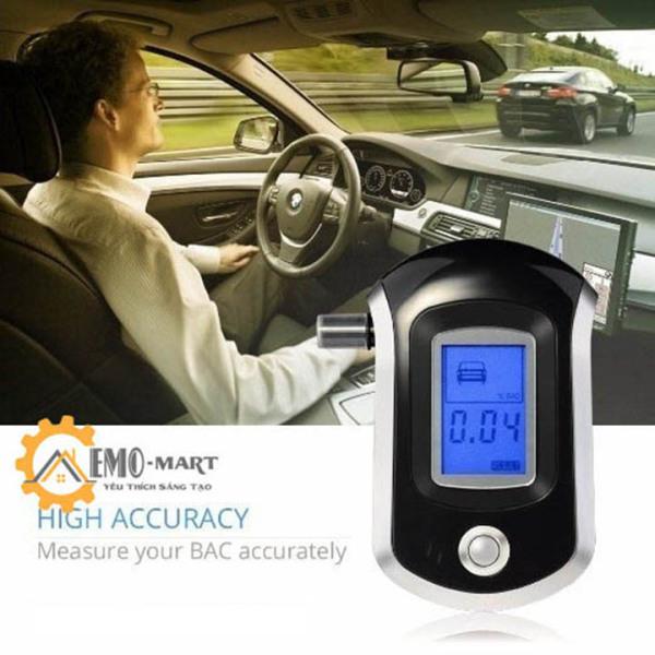 Nơi bán Máy đo nồng độ cồn trong hơi thở Alcohol Tester AT6000
