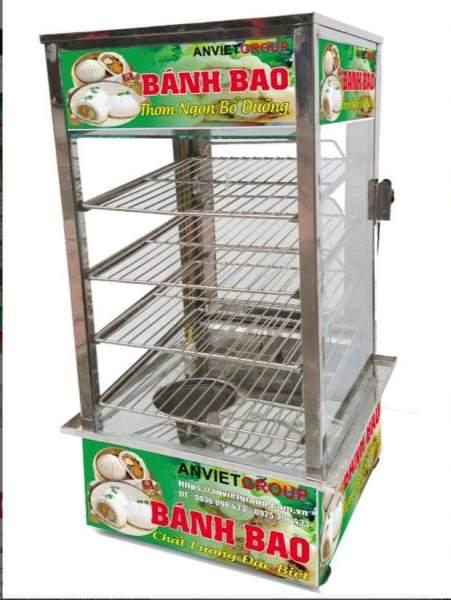 Tủ Trưng Bày Bánh Bao BB4