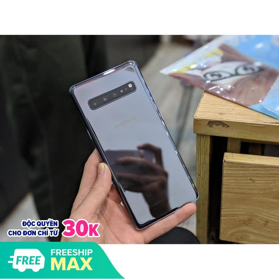 Điện Thoại Samsung Galaxy S10 5G || Pin khủng , 4 Camera sau || Màn hình lớn , sạc siêu nhanh || Mua tại PlayMobile