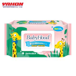 KHĂN ƯỚT EM BÉ BABYHOOD 60 MIẾNG - KHÔNG MÙI thumbnail