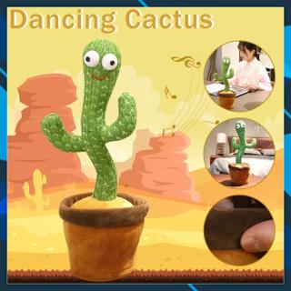COMBO 2 Cây xương rồng nhảy múa, Đồ chơi trẻ em xương rồng nhảy múa - Hàng cao cấp, vui nhộn, ngộ nghĩnh hot 2021 thumbnail