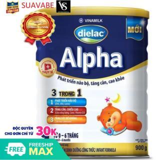 Sữa bột Dielac Alpha Step 1 900g thumbnail
