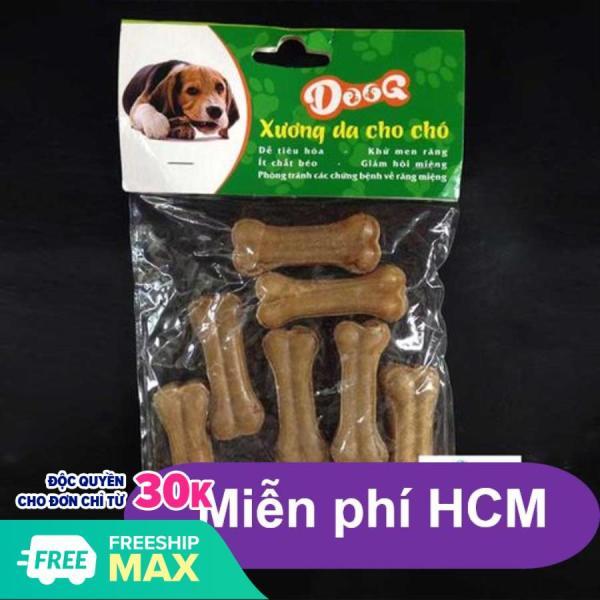 HN- Bộ 10 Xương ống da bò cho chó gặm - phù hợp với chó  dưới 7kg (369) 4cm-HP2211006