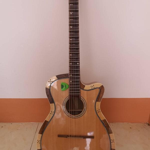 Đàn thùng guitar phím lõm (Đàn vọng cổ)- Kèm tài liệu - Phùng Thanh Vũ