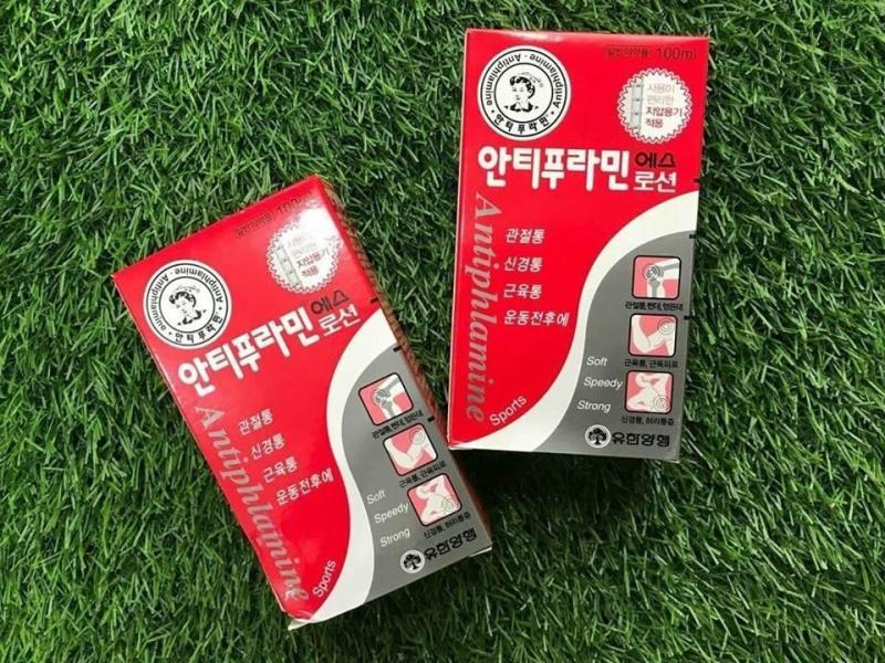 Dầu nóng xoa bóp Antiphlamine Hàn Quốc tốt nhất
