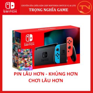 Nintendo Switch + Game Mario Kart 8 + 12 tháng bảo hành + Tặng Dán Cường Lực thumbnail
