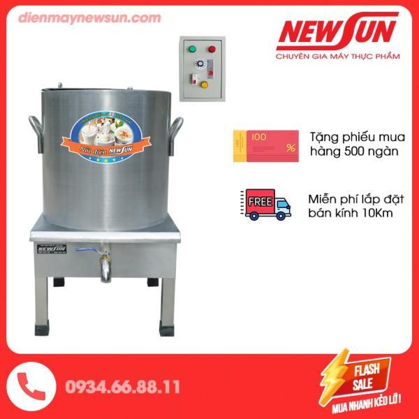 Nồi nấu phở công nghiệp tủ điện rời 100L NEWSUN - Tặng kèm thanh nhiệt - Bảo hành 12 tháng