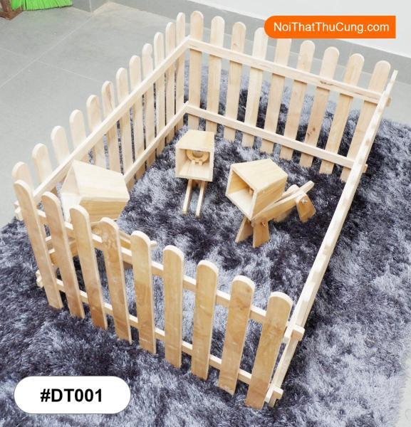 Hàng Rào Độc Đáo Dành Cho Chó DT001