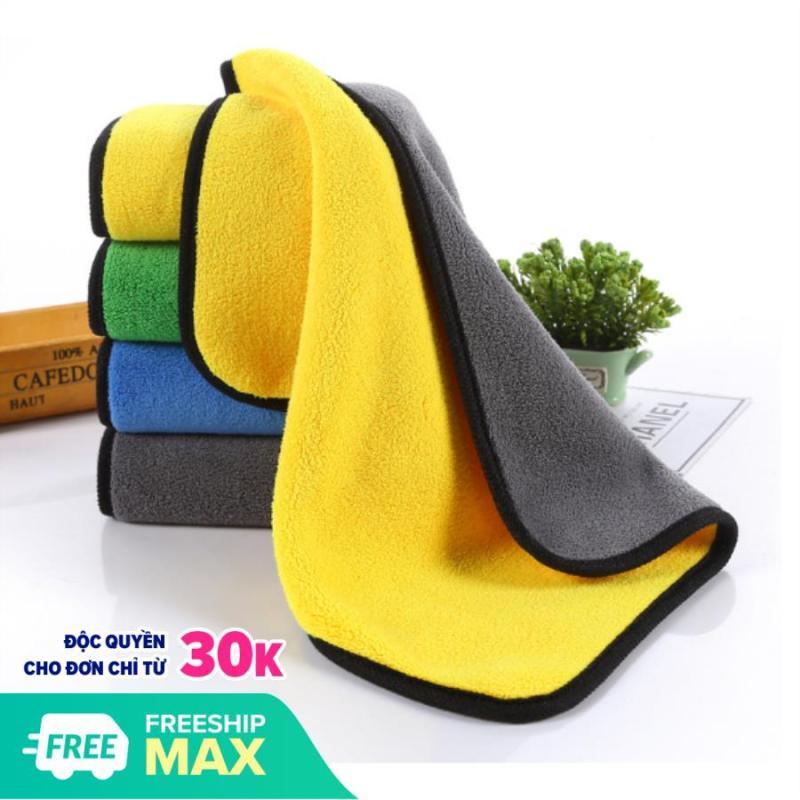 Khăn lau xe oto 3M (siêu dày, siêu hút nước, không đỗ lông, không r màu) shop đảm bảo hàng chất lượng