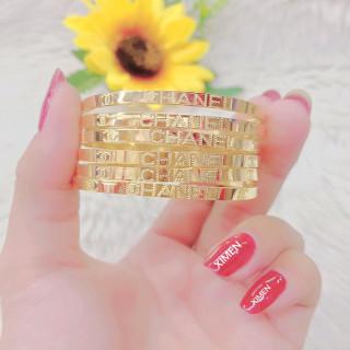 [HCM]Bộ vòng ximen 7 chiếc mạ vàng 18K cao cấp JK Silver vòng ximen bản 4 li khóa vàng giống vàng thật 99% cam kết không đen không bay màutrang sức nữ vàng lắc tay nữU.Ximen18 thumbnail