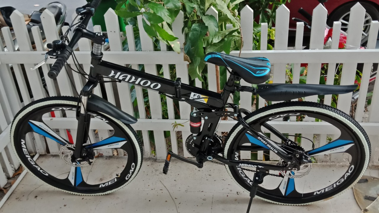 Mua Tặng bộ lục giá cao cấp - Xe đạp thể thao địa hình gấp gọn HaHoo [Bảo  hành 12 tháng] Sản phẩm bán chạy nhất trên TV Homeshoing