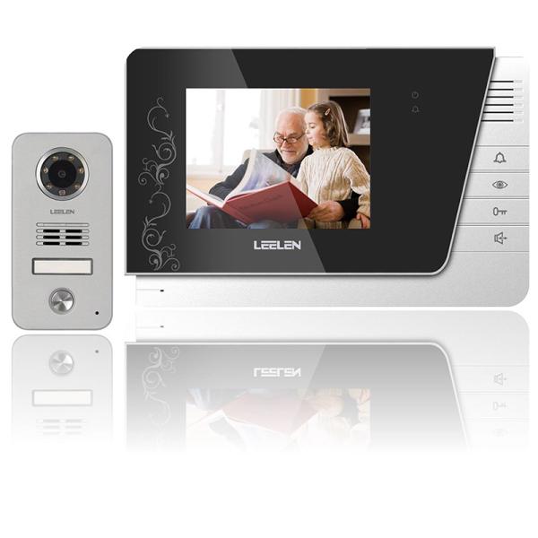 Giá Camera chuông cửa an ninh kết hợp màn hình LCD 4 inch N15-V-26