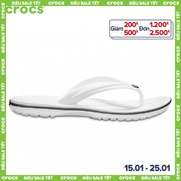 CROCS Dép xỏ ngón thời trang Unisex Crocband 11033 giá rẻ