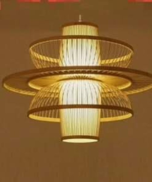 Đèn thả trần mây tre đan- trang trí nội thất-đèn thả bàn ăn-đèn trang trí quán cafe