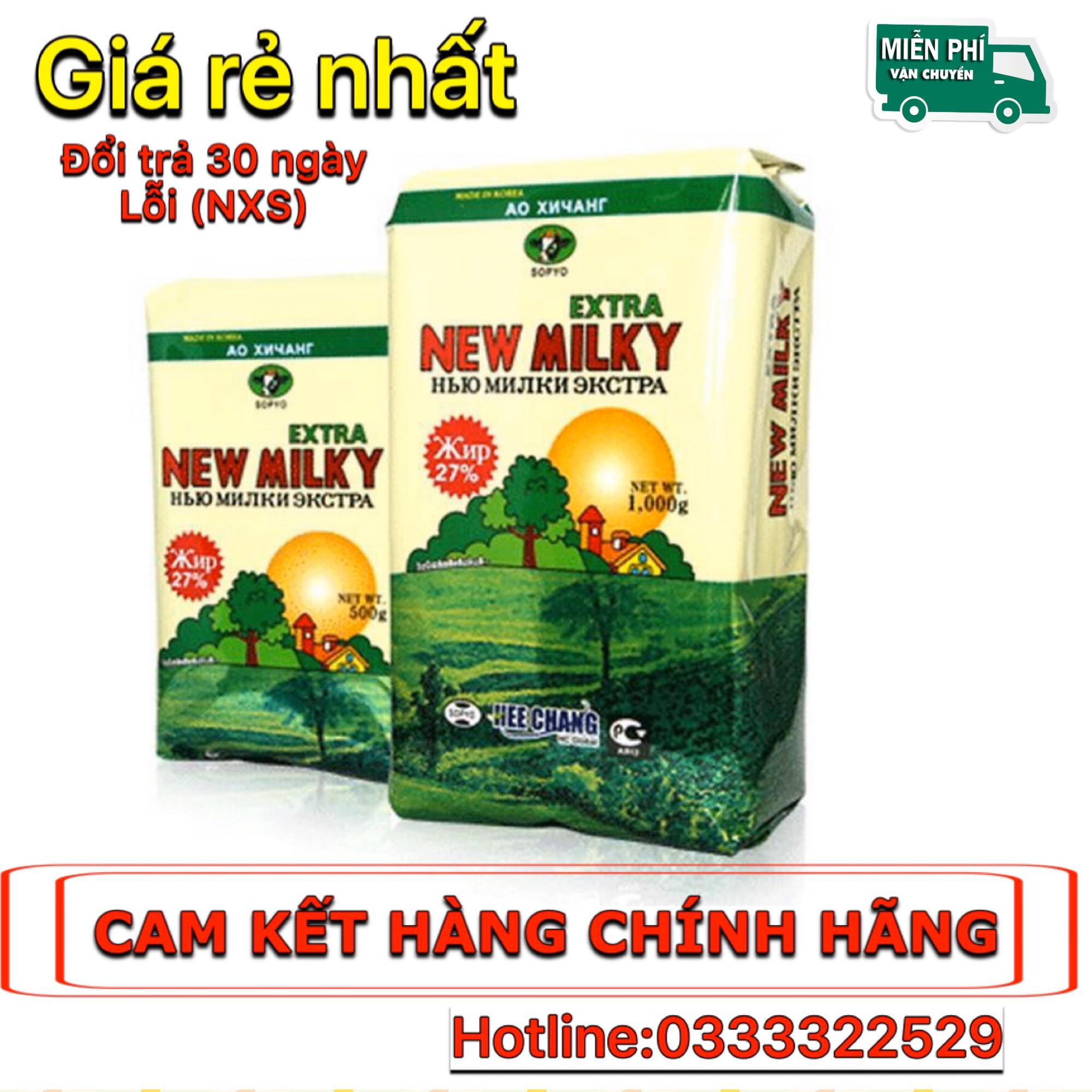 Offer tại Lazada cho (DATE MỚI) Sữa Béo Nga New Milky Extra, Sữa Tăng Cân Nga - Sữa Tăng Cân, Dinh Dưỡng Cho Người Gầy, Nhẹ Cân - New Milky Extra