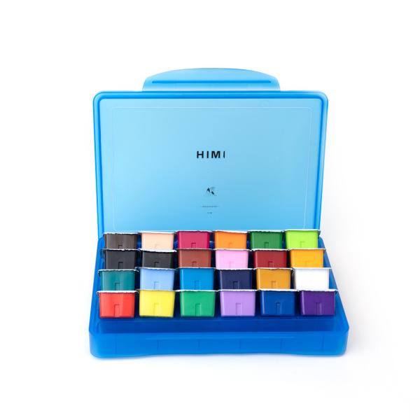 Màu thạch himi miya  màu gouache bộ 24 màu dung tích 30ml hkuk  giao màu vỏ ngẫu nhiên, đa dạng sản phẩm, cam kết hàng như hình, chất lượng đảm bảo, an toàn người sử dụng