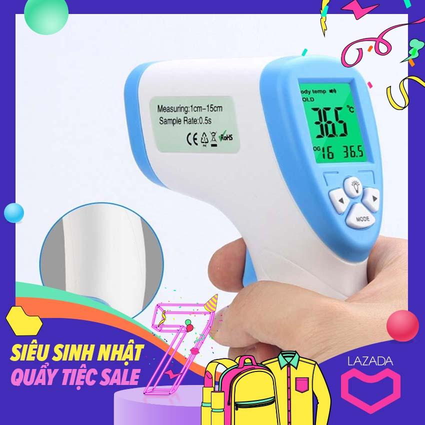 Máy đo nhiệt độ hồng ngoại cho bé -kf - 111 DT- 8809C  V 125 nhiệt kế giá bao nhiêu, nhiệt kế điện tử loại nào tốt, đo thân nhiệt trẻ em nhanh chóng chính xác nhất nhập khẩu