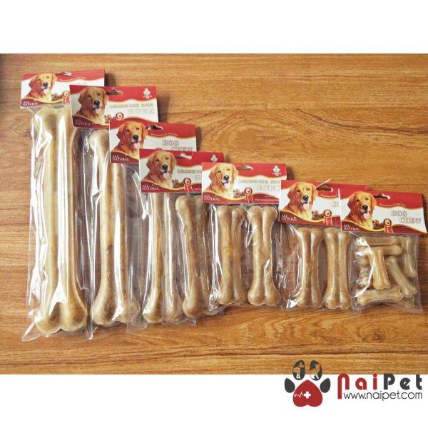 Đồ Ăn Vặt Xương Canxi Da Bò Cho Chó Gặm Làm Sạch Răng Giúp Răng Chắc Khỏe Dog Chews