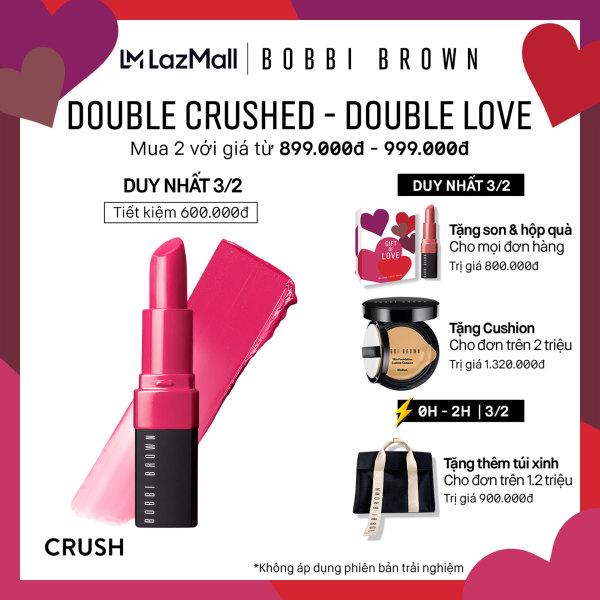 [Ưu đãi độc quyền - Chỉ 03/02]  Son môi Bobbi Brown Crushed Lip Color 3.4g
