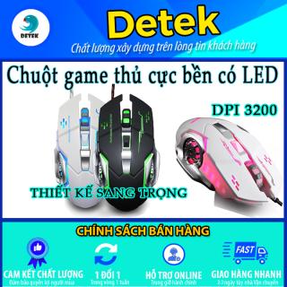 Chuột Game thủ DeTeK Divipard GearLord G502 Q5 có đèn LED thumbnail