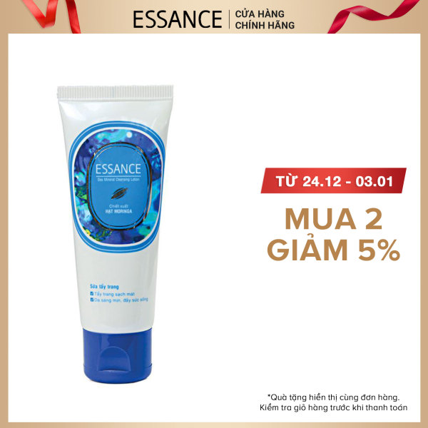Sữa tẩy trang Essance Sea Mineral Cleansing Lotion 100g cao cấp