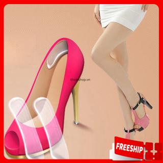 [HCM]Miếng lót gót giày - Miếng lót giày bảo vệ chân - Miếng lót giày silicon chống đau gót chân - Miếng lót giày cho giày cao gótsandalbúp bê thumbnail