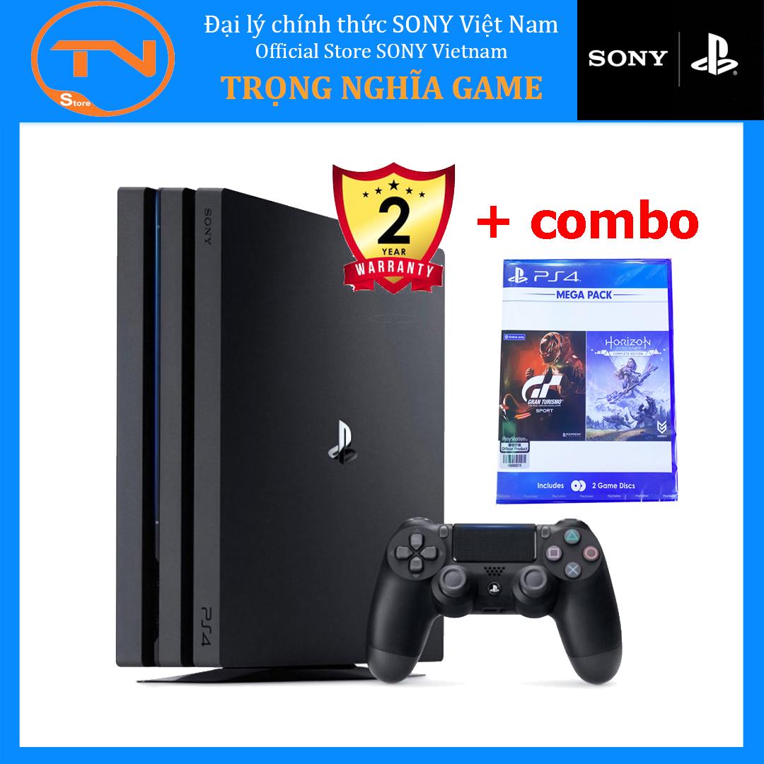 [TRẢ GÓP 0%] Máy PS4 Pro 7218B Sony 1 TB kèm 2 game Grand Turismo + Horizon Zero Dawn - Hàng chính hãng bảo hành 2 năm Sony