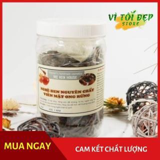 Nghệ đen viên mật ong rừng mẹ ken 1 kg ( hỗ trợ tiêu hóa, lưu thông khí huyết và các vấn đề kinh nguyệt nữ) thumbnail
