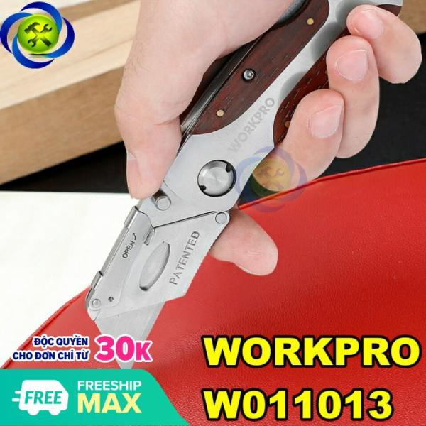Dao rọc lưỡi thép Workpro W011013 loại xếp