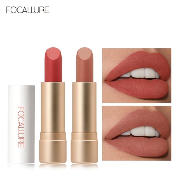 Son môi Focallure Staymax hiệu ứng nhung lì không thấm nước giữ màu bền lâu suốt 24 giờ - INTL