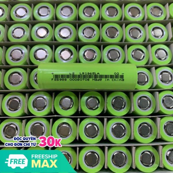 Combo 10 Pin lishen 2000mah 10C 18650 xả cao cho máy khoan 20A - Xanh