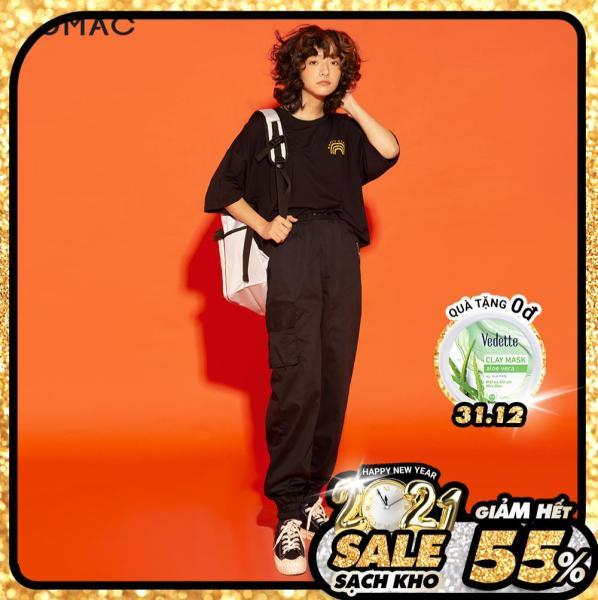 (SALE 50%)Quần JOGGER nữ GUMAC thiết kế  phối kéo QA1275