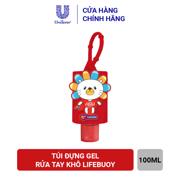 Túi Đựng Gel Rửa Tay Khô Lifebuoy (100ml)