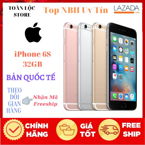 Điện Thoại Apple iPhone 6S 64Gb Bản Quốc Tế Fullbox - Pin Trâu Camera Sắc Nét-Vân Tay 1 Chạm Nhạy - Bảo hành Lâu Dài