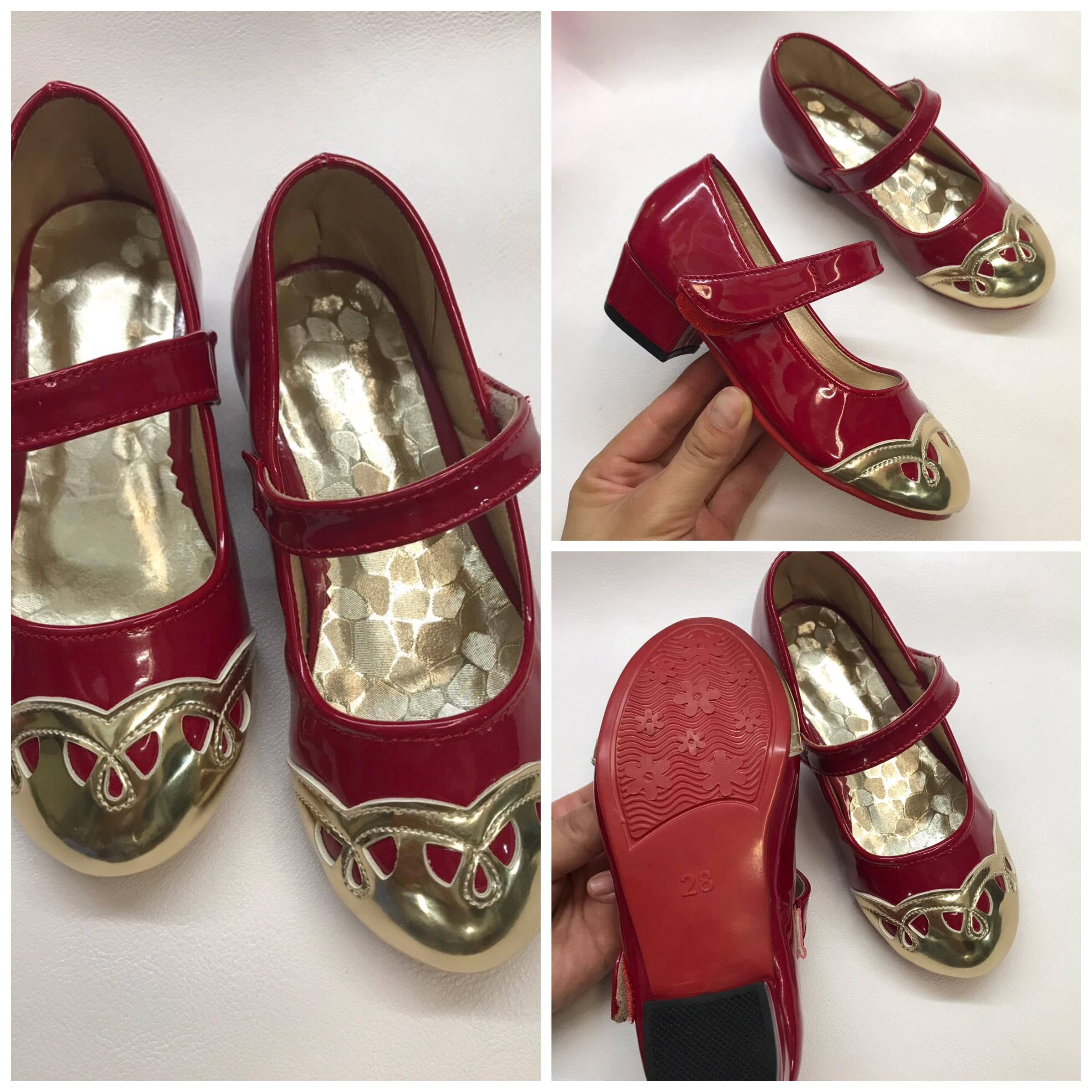 Giá bán Giày sandal cho bé gái cao gót 3cm sz25-34