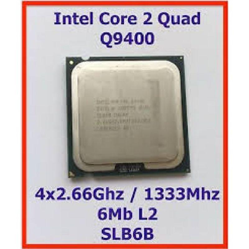 Bảng giá CPU Q9400 SK 775 DÙNG MAIN G31,G41 Phong Vũ