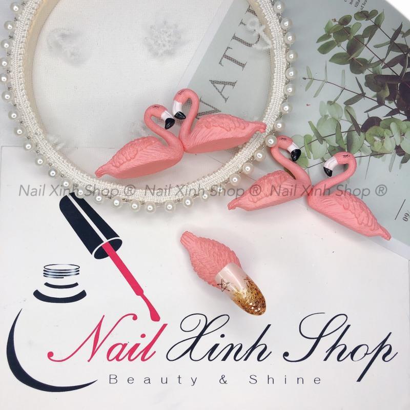 Đế gắn móng tập vẽ nail, đế gắn móng hồng hạc, phụ kiện nail hot 2020