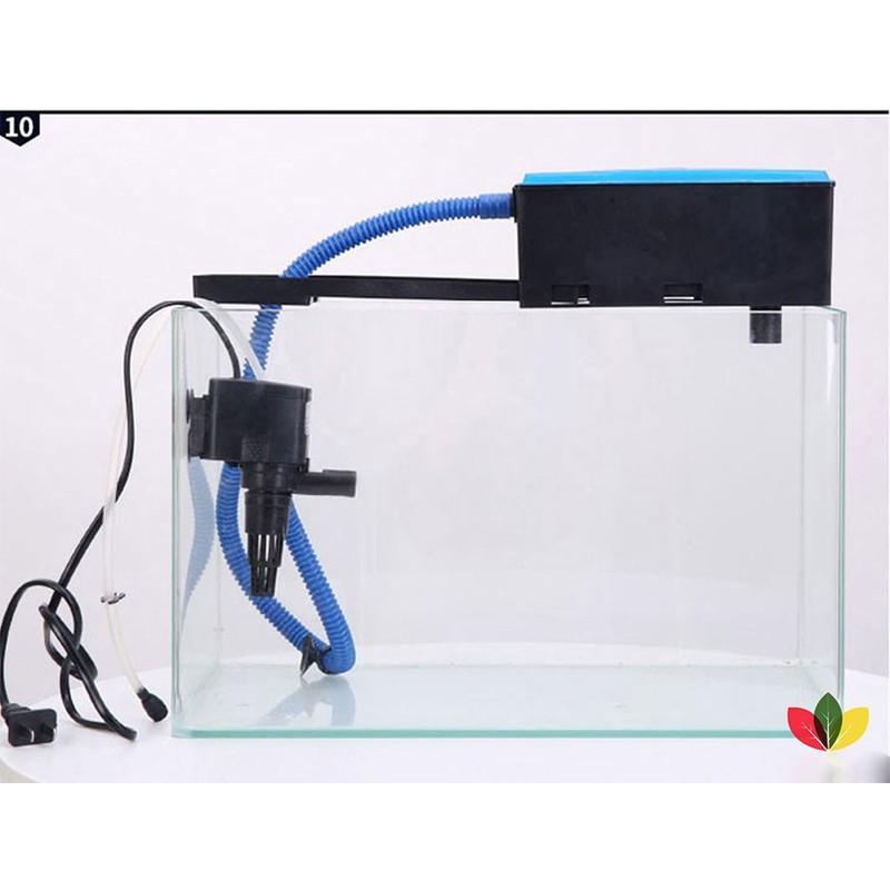 rbs Máy lọc máng RS188 bể cá với 3 chức năng vừa lọc, vừa bơm, vừa thổi oxi