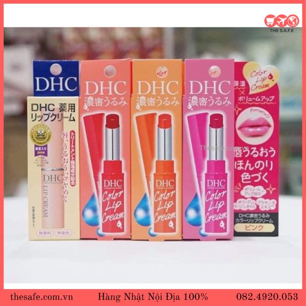 Son Dưỡng Môi DHC Lip Cream 1,5g Nhật Bản của The Safe nhập khẩu