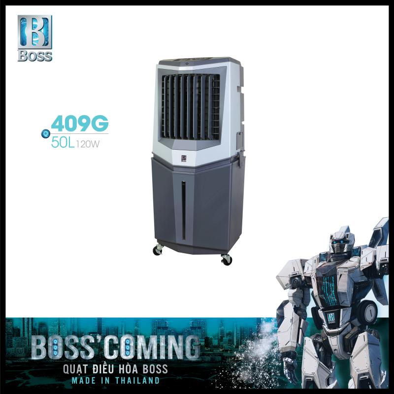 Quạt điều hòa không khí Boss FEAB-409-G - 50 lít - 120W | Bảo hành 12 tháng chính hãng | Made in Thailand