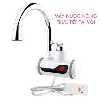 Máy tắm nước nóng,Máy nước nóng olyMpic,Máy nước nóng lạnh lắp đặt tại vòi JDS-4D5,làm nóng cực nhanh, chống giật an toàn,Bảo hành chính hãng thumbnail