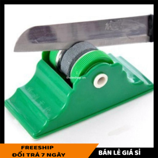 Đá Mài Dao Kéo Có Đế Mài Cực Nhanh Cực Sắc - Đá mài dao kéo - Dụng cụ nhà bếp - Dụng cụ mài dao - Máy mài dao [LẺ GIÁ SỈ] thumbnail