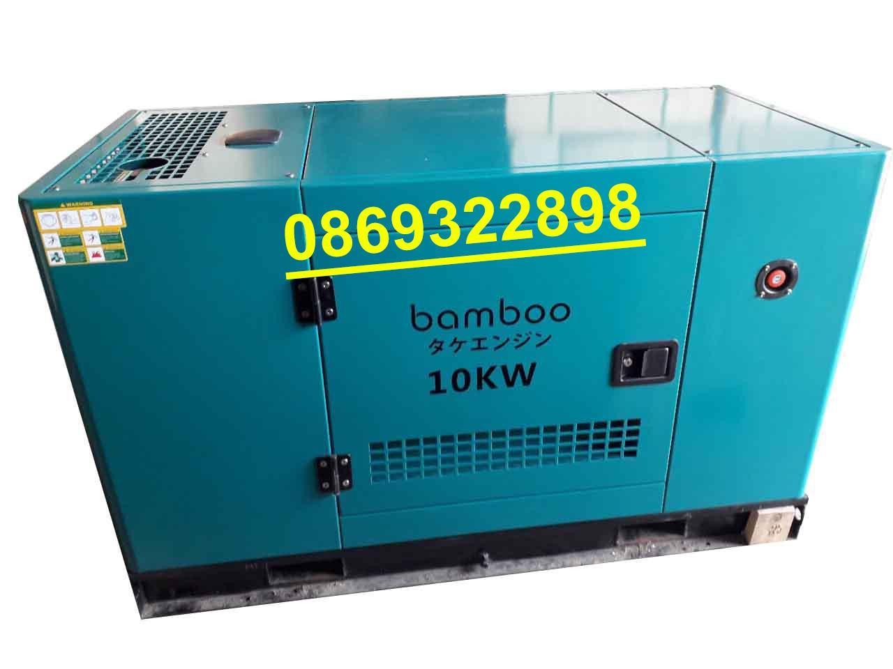 Máy phát điện 15kva  1 Pha nhật Bản Bamboo 12000AS