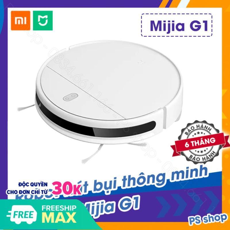 TRẢ GÓP 0% - Robot hút bụi Xiaomi Mi Robot Vacuum-Mop Essential (G1) - Mijia G1 2020 [ BẢO HÀNH 6 THÁNG ]