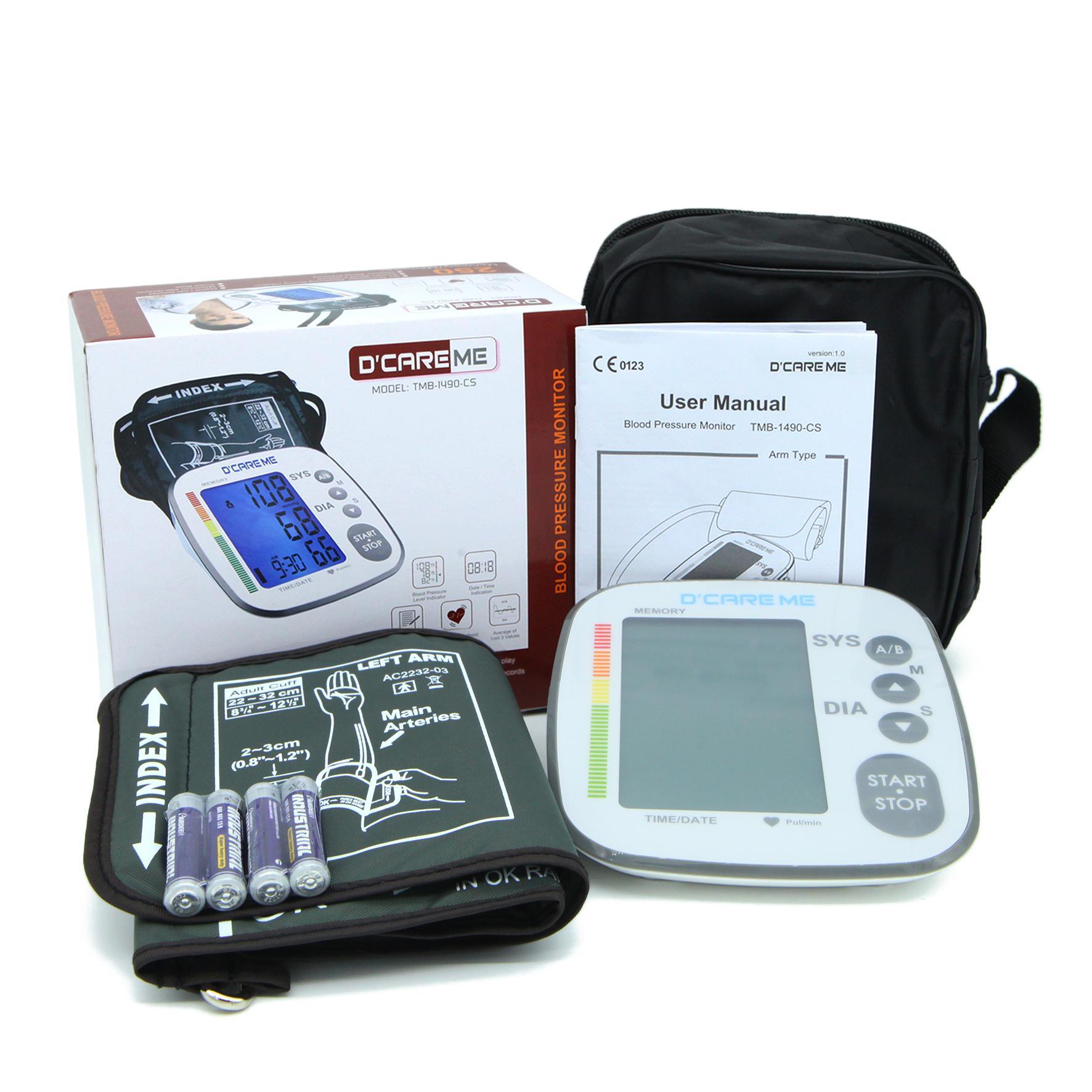 Máy đo huyết áp bắp tay Dcareme chính hãng