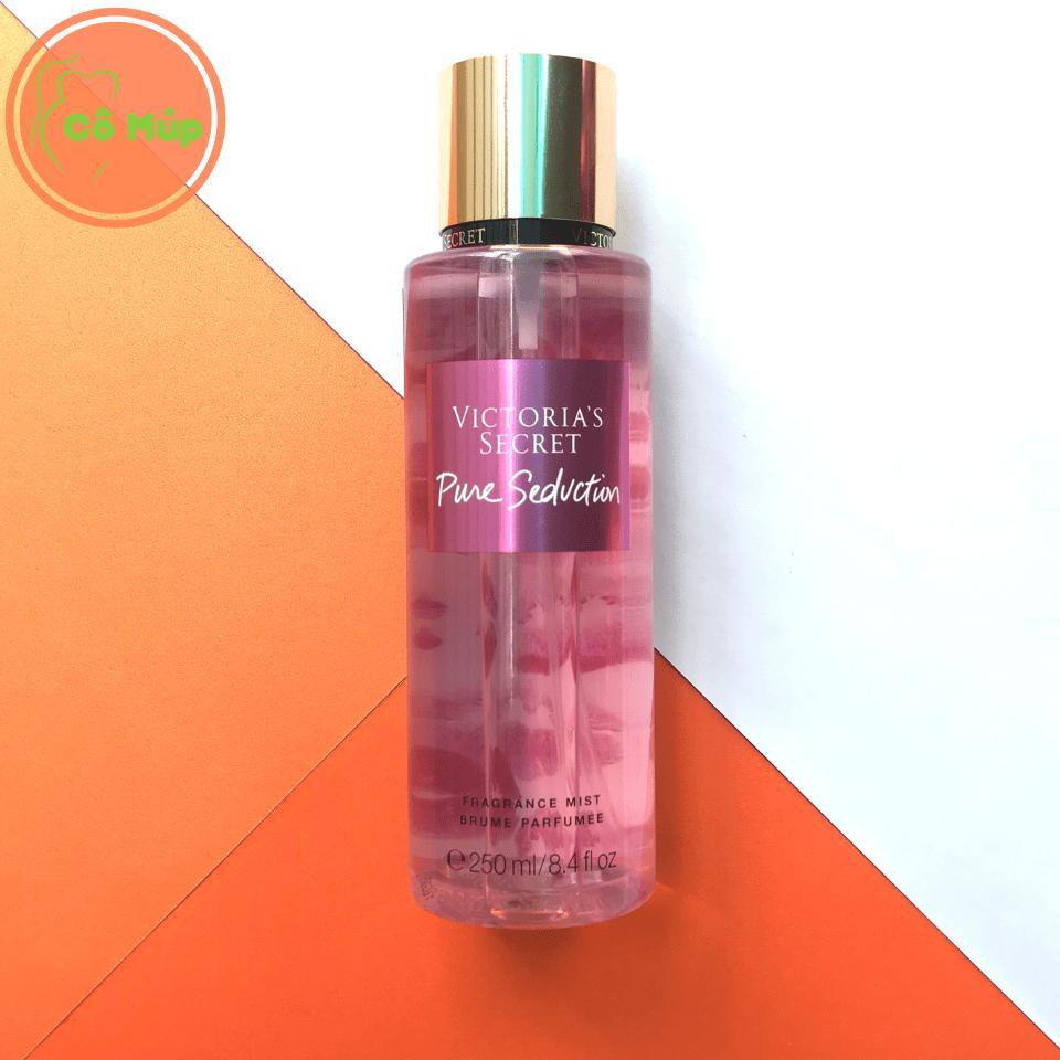 Xịt Thơm Toàn Thân Victorias Secret Pure Seduction 250ml - Hàng USA nhập khẩu